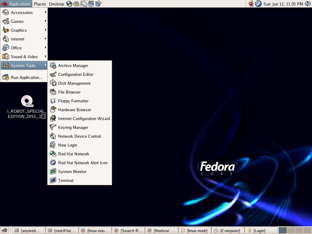 Updating fedora core 4